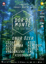 Sunrise & Proudly made by Us prezinta Dor De Munte, pe 30 august, in Poiana Brasov
